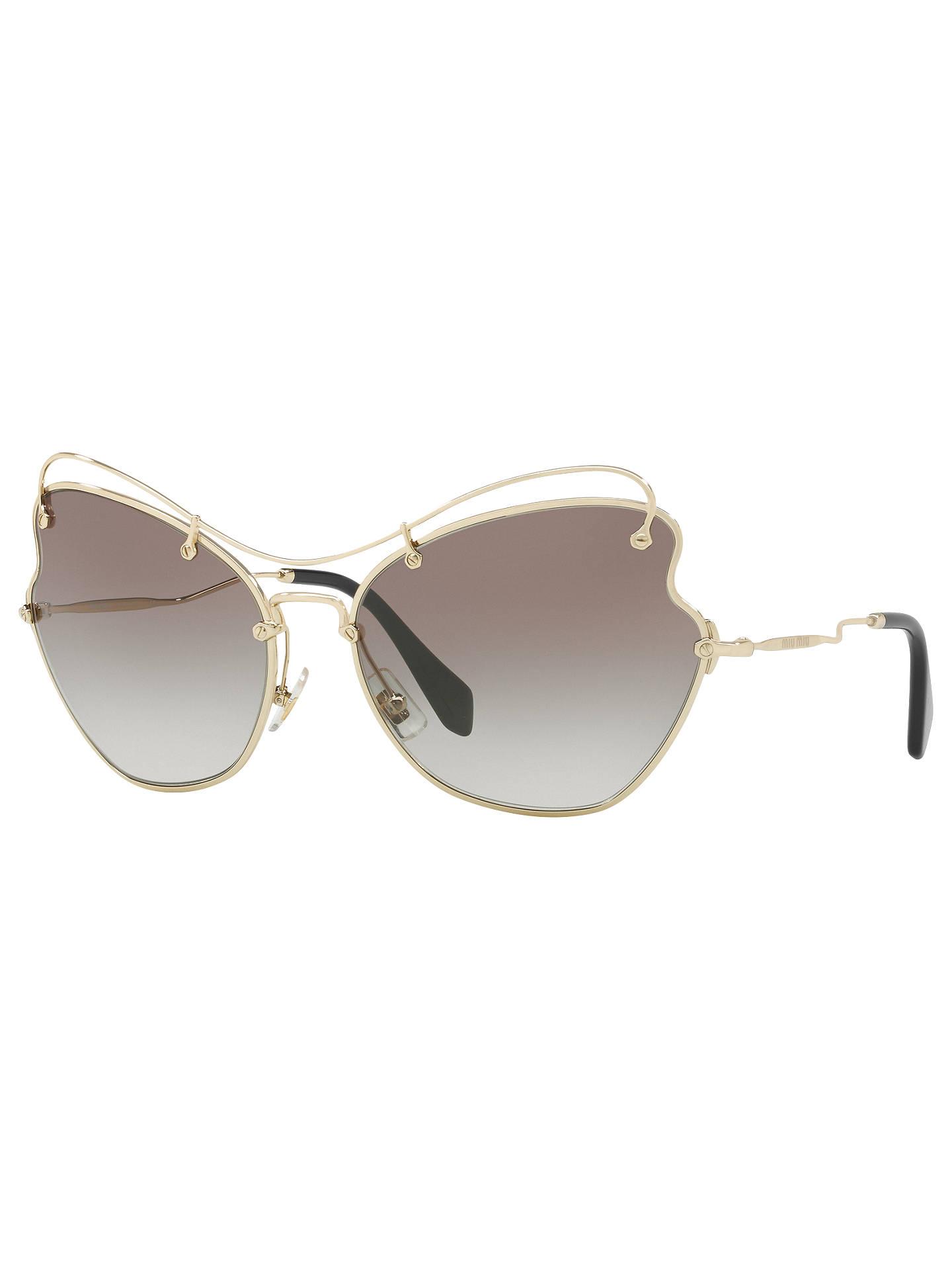 c6698defa57 Miu Miu MU 56RS Cat s Eye Sunglasses at John Lewis   Partners