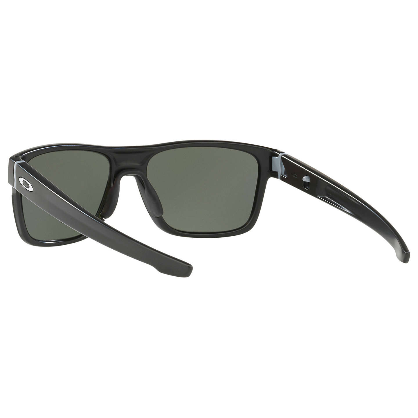BuyOakley OO9361 Crossrange Prizm Polarised Square Sunglasses, Matte Black/Mirror Beige Online at johnlewis.com