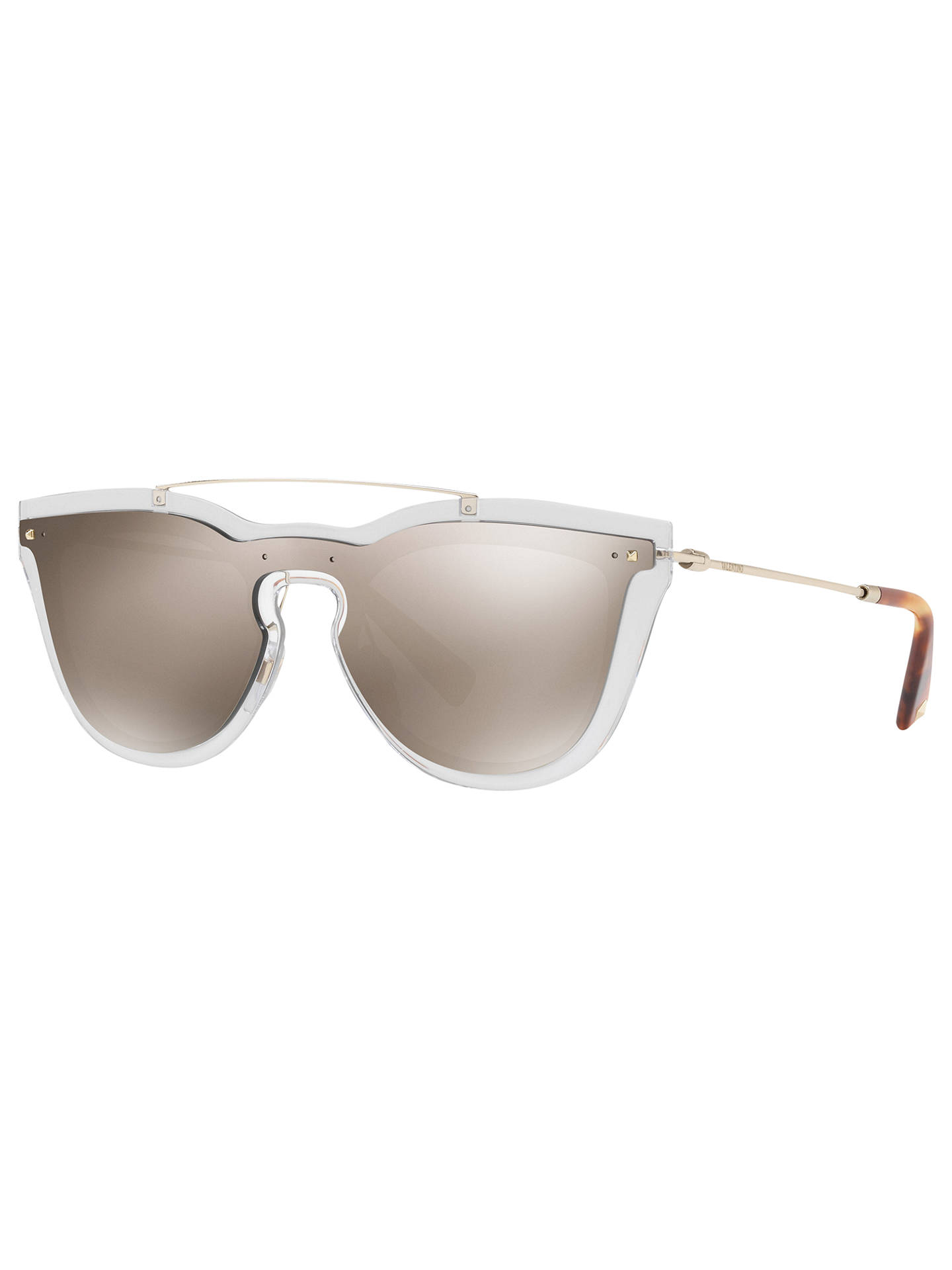 43b42243bcb Valentino VA4008 Oval Sunglasses at John Lewis   Partners
