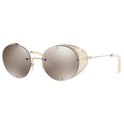 Valentino VA2003 Cut Out Detail Round Sunglasses