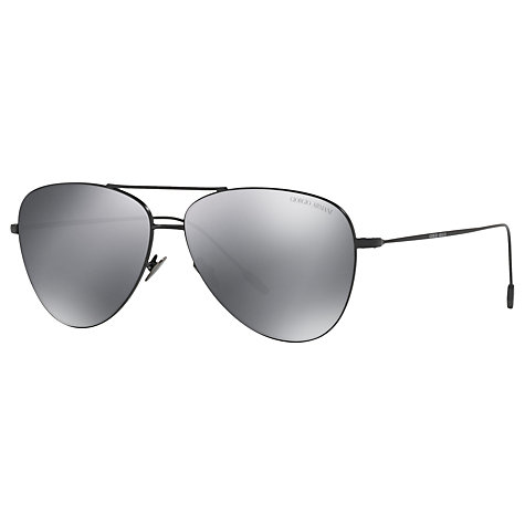 buy aviator sunglasses online  Buy Giorgio Armani AR6049 Frames of Life Aviator Sunglasses