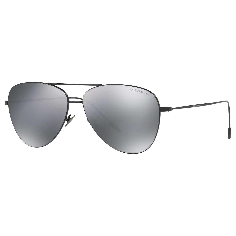 Giorgio Armani AR6049 Frames of Life Aviator Sunglasses at John Lewis