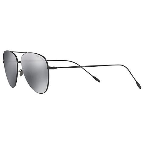 aviator frames online  Buy Giorgio Armani AR6049 Frames of Life Aviator Sunglasses