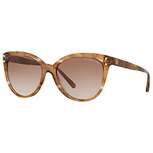 Buy Michael Kors MK2045 Jan Cat's Eye Sunglasses Online at johnlewis.com