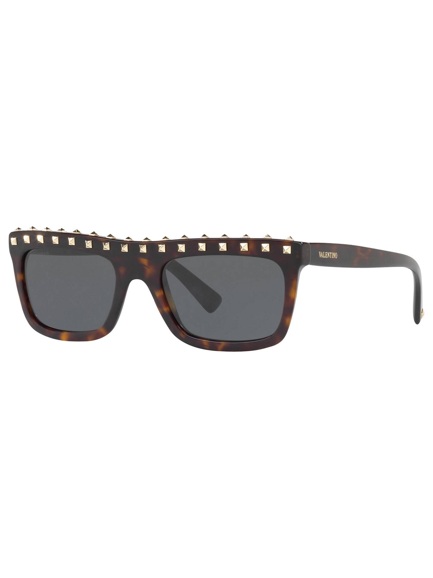 9710bef34f1 BuyValentino VA4010 Studded Rectangular Sunglasses