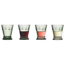 Buy La Rochère Bee Small Goblet, Set of 4, 185ml, Green Online at johnlewis.com