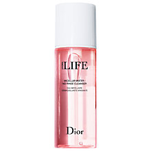Buy Dior Hydra Life Micellar Water No Rinse Cleanser, 200ml Online at johnlewis.com