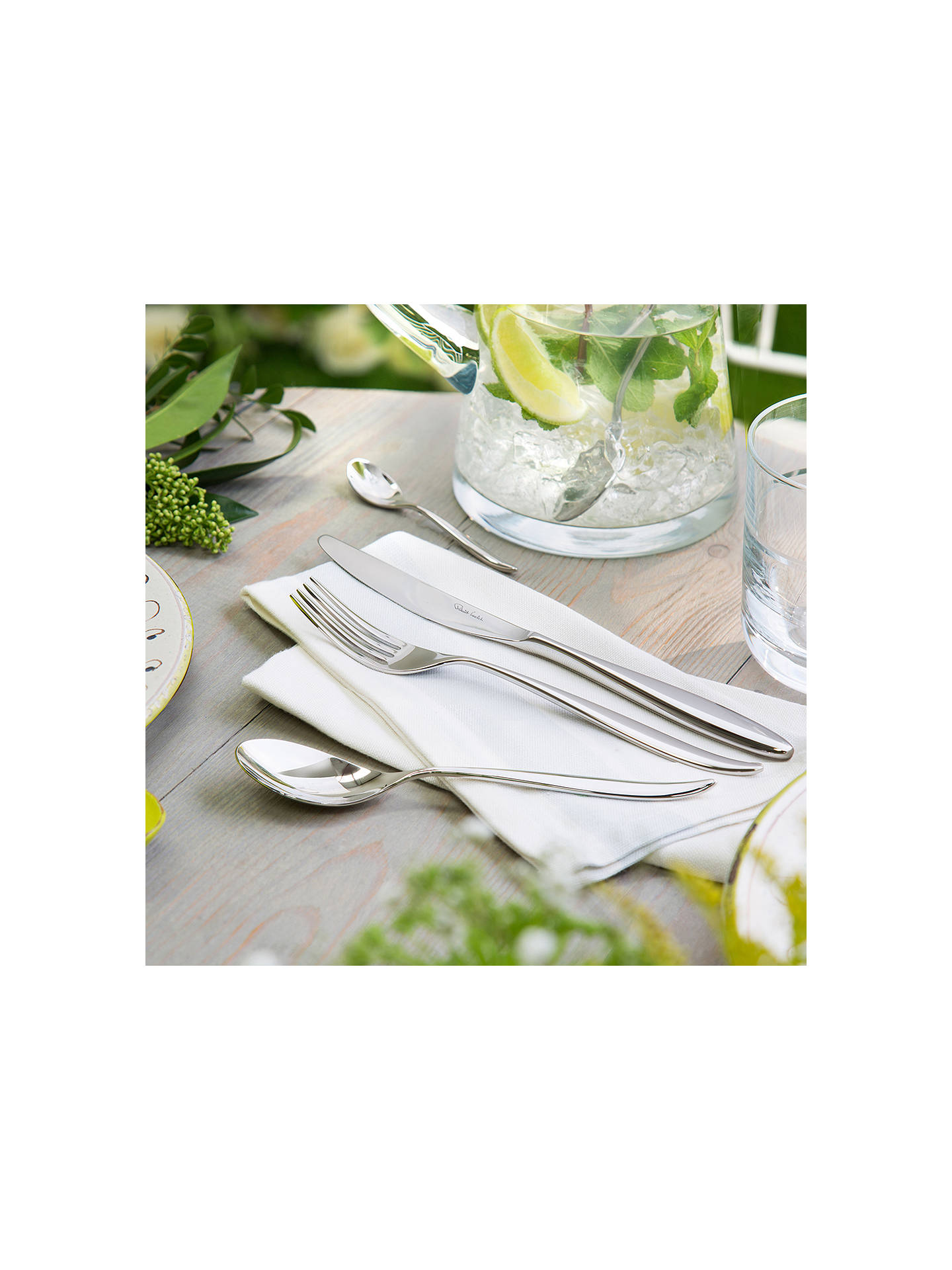 Buy Robert Welch Hidcote Cutlery Set, 24 Piece/6 Place Settings Online at johnlewis.com