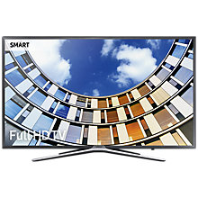 "Buy Samsung UE32M5500 LED Full HD 1080p Smart TV, 32"" with TVPlus, Dark Grey Online at johnlewis.com"