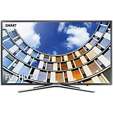 "Buy Samsung UE43M5500 LED Full HD 1080p Smart TV, 43"" with Freeview HD, Dark Grey Online at johnlewis.com"