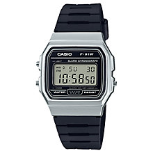 Buy Casio Unisex Core Retro Casual Resin Strap Watch Online at johnlewis.com