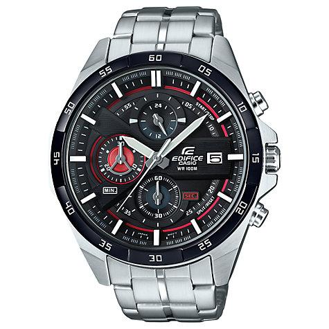 metal men s watches john lewis buy casio efr 556db 1avuef men s edifice chronograph bracelet strap watch silver