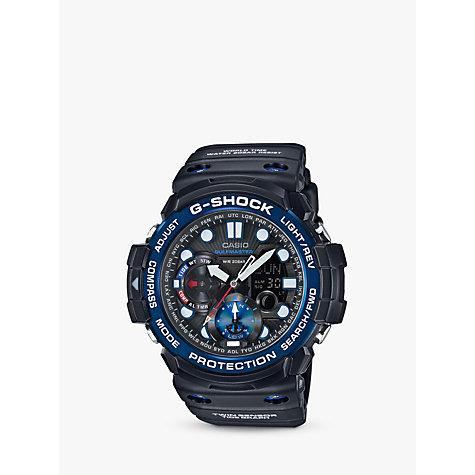 men s watches men s designer watches john lewis buy casio gn 1000b 1aer men s g shock gulfmaster world time chronograph resin