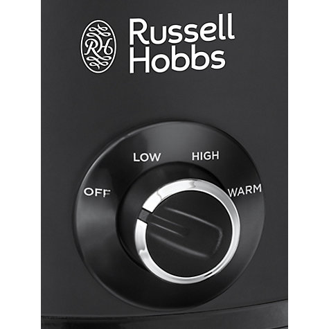 Buy Russell Hobbs 3.5L Chalkboard Slow Cooker, Black Online at johnlewis.com