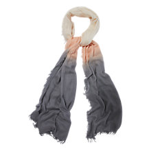Buy Phase Eight Ombre Scarf, Multi Online at johnlewis.com