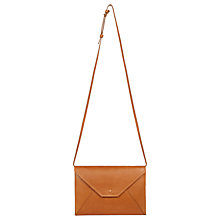 Buy Gerard Darel L'Envelope Leather Shoulder Bag Online at johnlewis.com