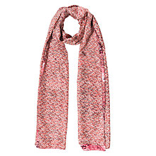 Buy Gerard Darel Felicity Scarf, Pink Online at johnlewis.com
