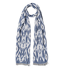 Buy Gerard Darel Francesca Scarf, Blue Online at johnlewis.com