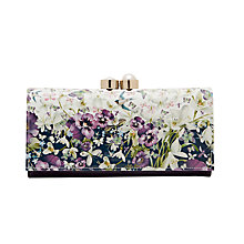 Buy Ted Baker Lionel Entangled Enchantment Leather Matinee Purse, Navy Online at johnlewis.com