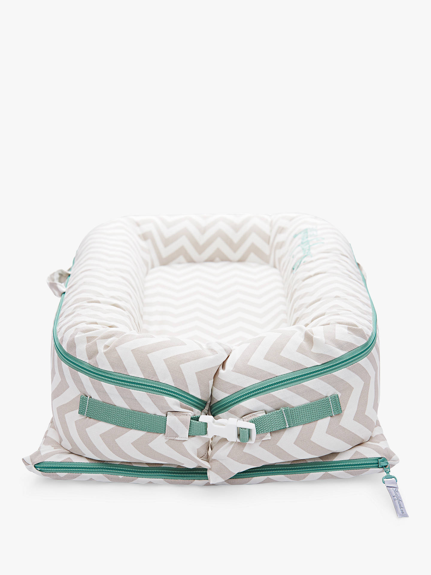 BuySleepyhead Deluxe+ Silver Lining Baby Pod Cover, 0-8 months Online at johnlewis.com