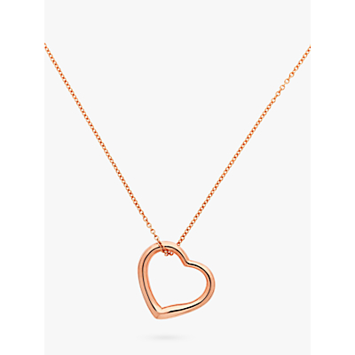 Product photo of Melissa odabash heart pendant necklace