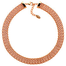 Buy Finesse Chunky Mesh Collar Necklace Online at johnlewis.com