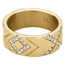 Buy Dyrberg/Kern Abey Crystal Ring Online at johnlewis.com