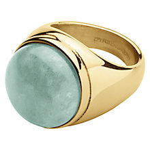Buy Dyrberg/Kern Castor Round Cocktail Ring Online at johnlewis.com