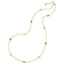 Buy Melissa Odabash Evil Eye Chain Necklace, Gold Online at johnlewis.com
