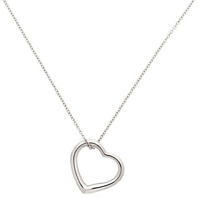Melissa Odabash Heart Pendant Necklace