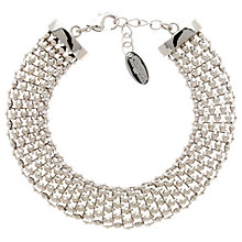 Buy Finesse Chunky Mesh Bracelet Online at johnlewis.com