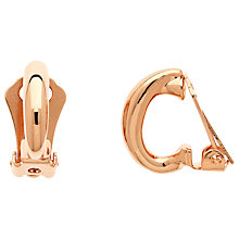 Buy Finesse Small Hoop Clip On Earrings Online at johnlewis.com