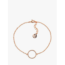 Buy Melissa Odabash Crystal Circle Bracelet Online at johnlewis.com