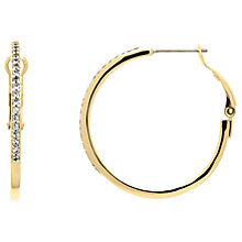 Buy Melissa Odobash 10663 Large Hoop Earrings, Gold Online at johnlewis.com