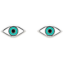 Buy Melissa Odabash Enamel Eye Stud Earrings Online at johnlewis.com