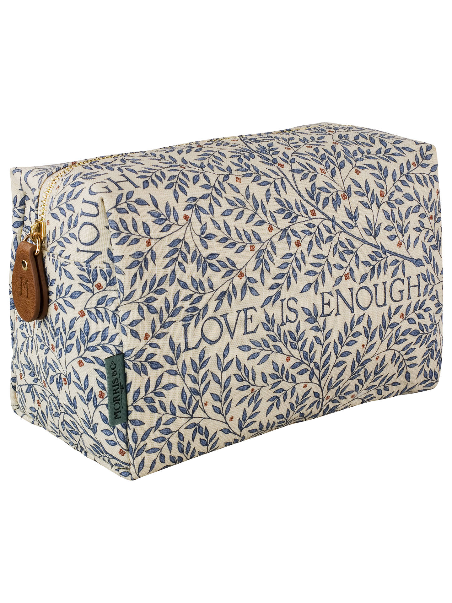 Heathcote Ivory Morris Co Love Is Enough Large Cosmetic Bag Online At Johnlewis