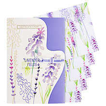 Buy Heathcote & Ivory Lavender Fields Fragranced Drawer Liners, 5 Sheets Online at johnlewis.com