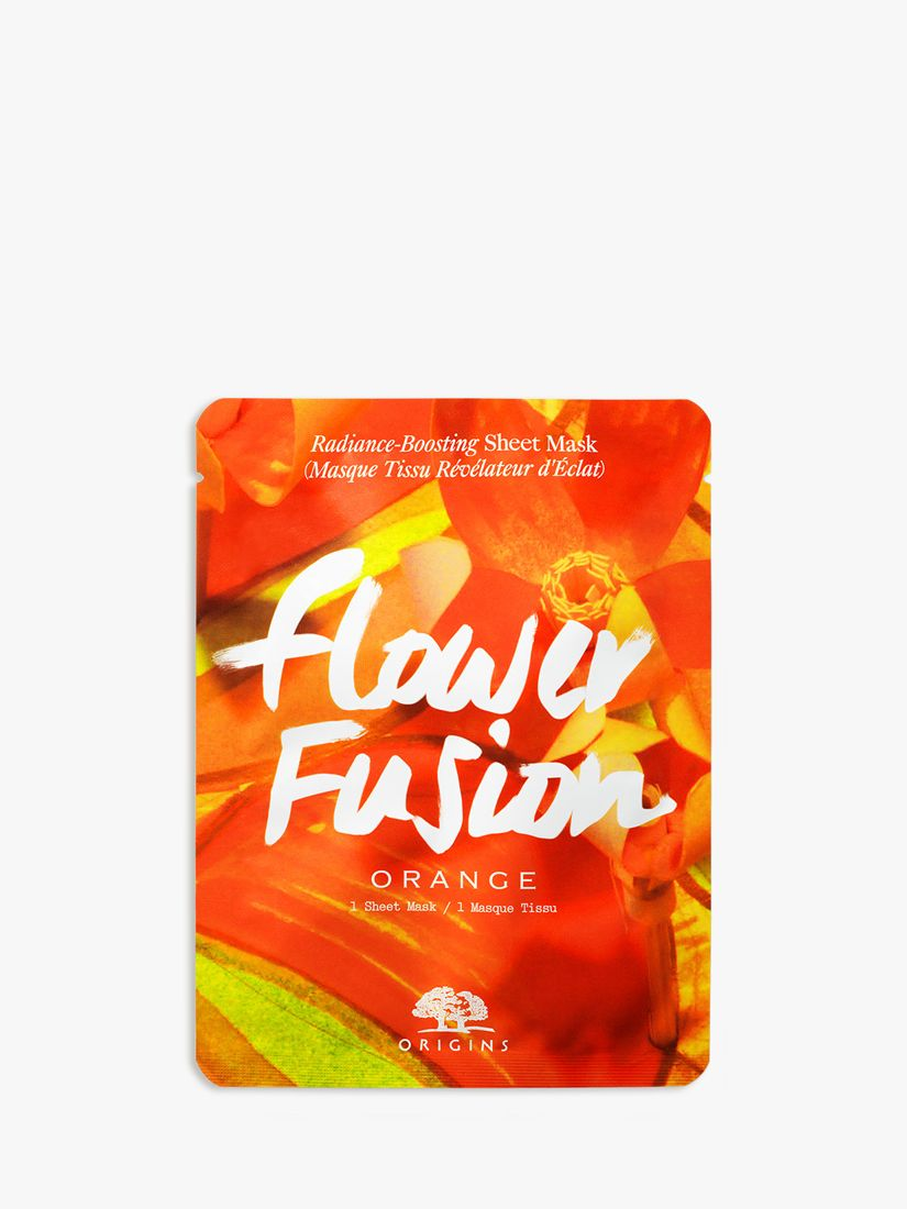 Origins Origins Flower Fusion Orange Radiance-Boosting Sheet Mask