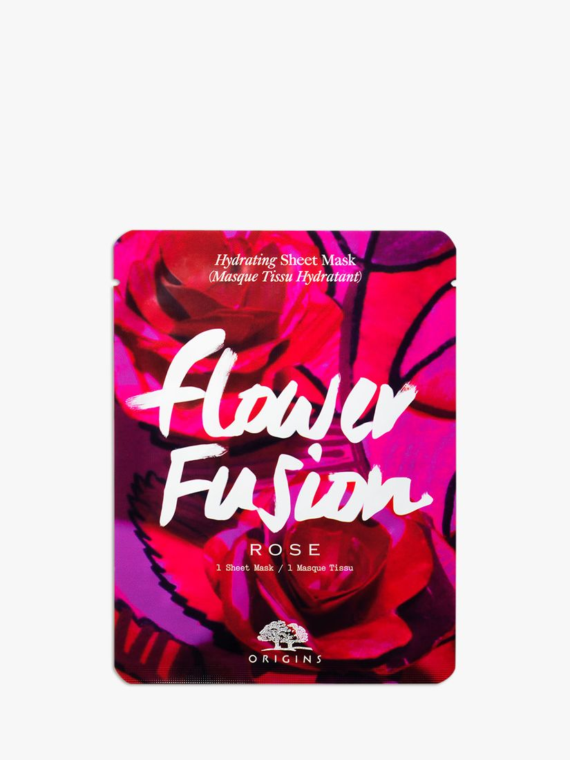 Origins Origins Flower Fusion Rose Hydrating Sheet Mask
