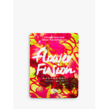Buy Origins Flower Fusion Raspberry Refreshing Sheet Mask Online at johnlewis.com