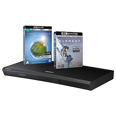 Samsung UBD-M9000 Curved Smart Bluetooth 4K UHD Blu-Ray/DVD Player