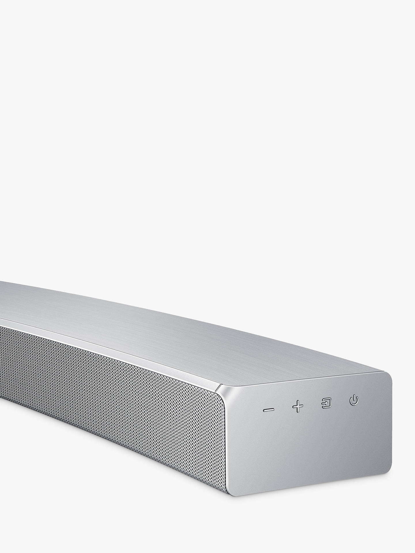 BuySamsung HW-MS6501 Curved Bluetooth Wi-Fi All-In-One Sound Bar with Distortion Cancelling, Silver Online at johnlewis.com