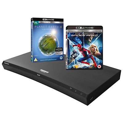 Samsung UBD-M9500 Curved Smart Bluetooth 4K UHD Blu-Ray/DVD Player