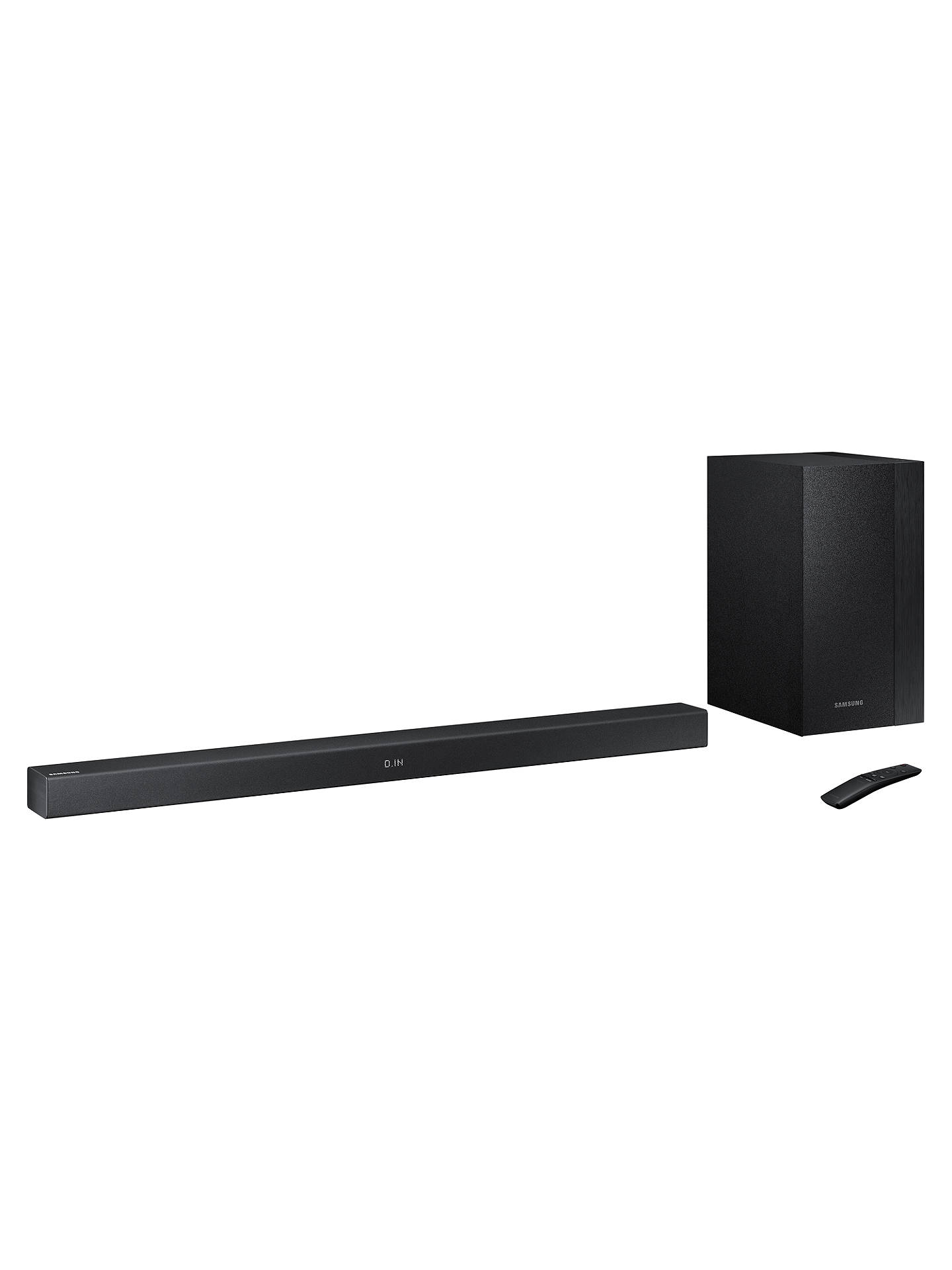 Buy Samsung HW-M360 Bluetooth Sound Bar with Wireless Subwoofer Online at johnlewis.com