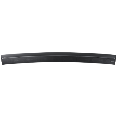 Samsung HW-MS6500 Curved Bluetooth Wi-Fi All-In-One Sound Bar with Distortion Cancelling, Titanium Grey