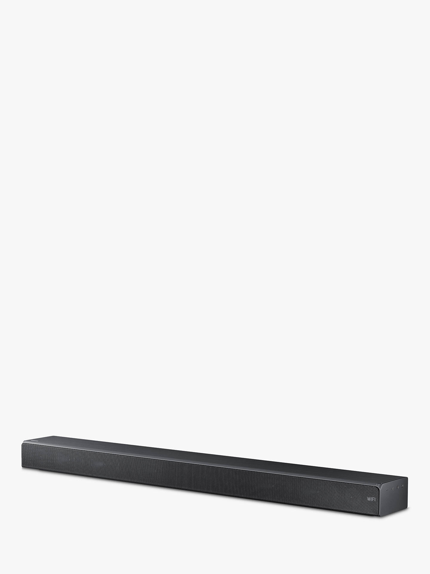 BuySamsung HW-MS650 Bluetooth Wi-Fi All-In-One Sound Bar with Distortion Cancelling, Titanium Grey Online at johnlewis.com