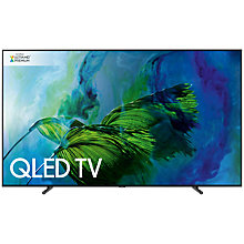 "Buy Samsung QE65Q9F QLED HDR 2000 4K Ultra HD Smart TV, 65"" with TVPlus/Freesat HD & 360 Design, Black, UHD Premium Online at johnlewis.com"