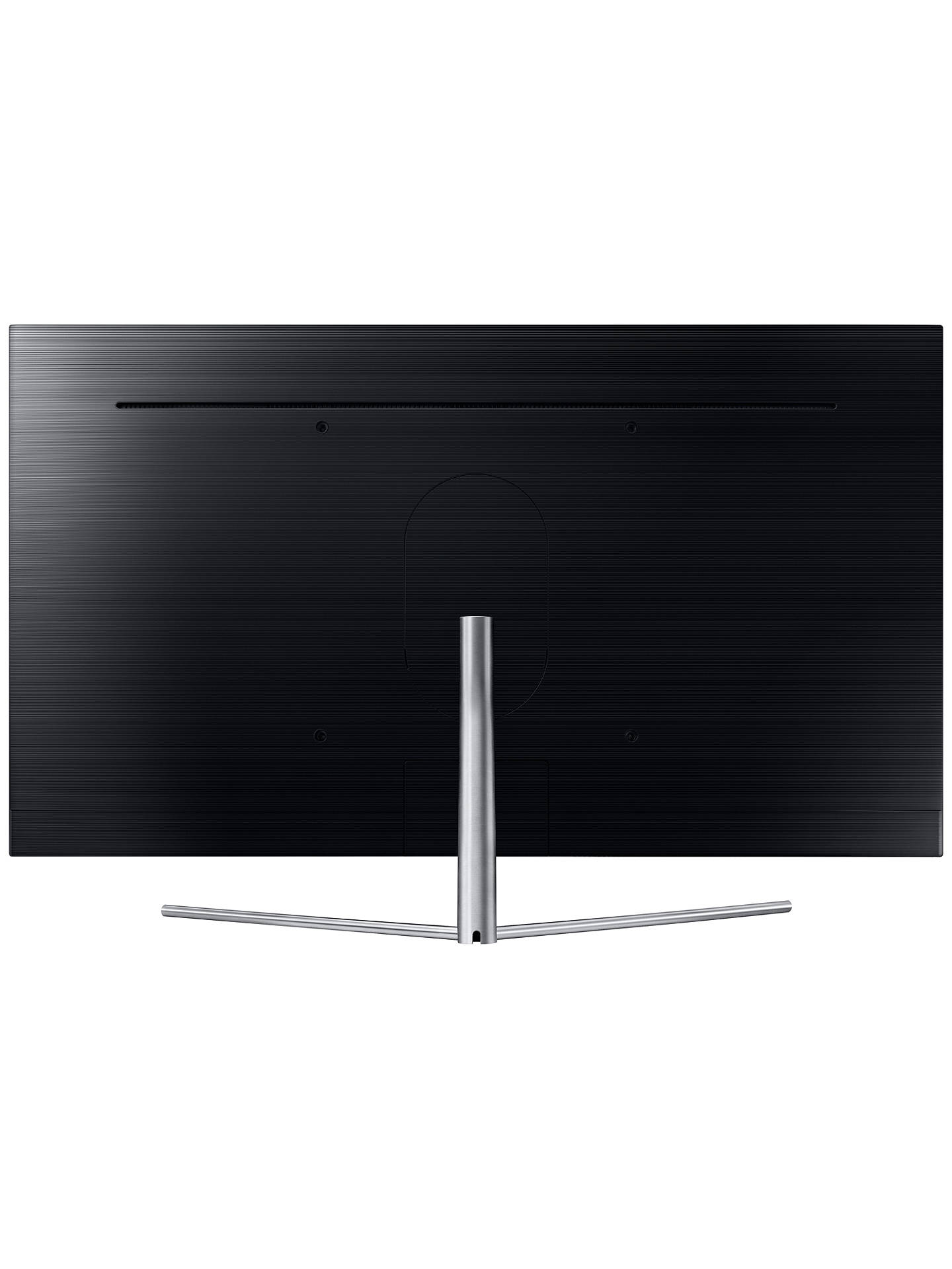 "BuySamsung QE55Q7F QLED HDR 1500 4K Ultra HD Smart TV, 55"" with TVPlus/Freesat HD & 360 Design, Ultra HD Premium Certified, Silver Online at johnlewis.com"