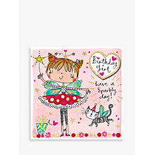 Buy Rachel Ellen Birthday Girl Fairy Birthday Card Online at johnlewis.com