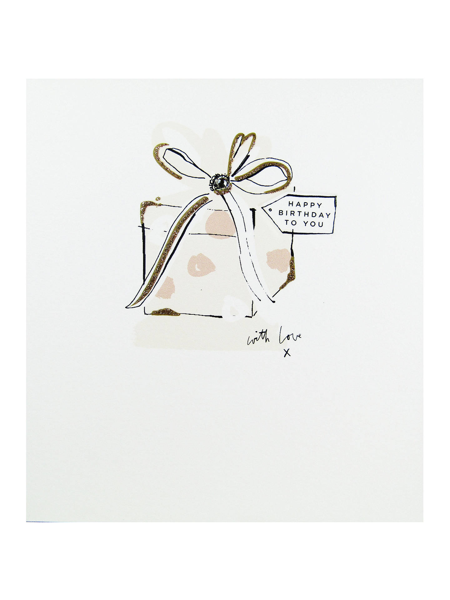 BuyThe Proper Mail Company Present Happy Birthday Card Online At Johnlewis